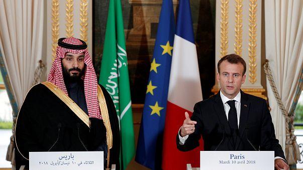 Zwischen Milliardendeals und Kritik: Saudischer Kronprinz besucht Frankreich
