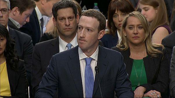 مارك زوكربيرغ أمام مجلس الشيوخ الاميركي