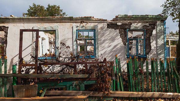 هرانیتنه در شرق اوکراین؛ جایی که مردهها هم در امان نیستند