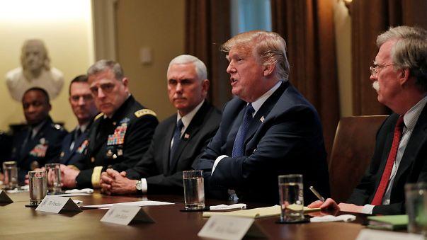 Trump Suriye'deki seçenekleri tartıyor