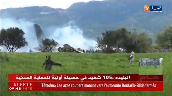 Al menos 257 muertos al estrellarse un avión militar en Argelia