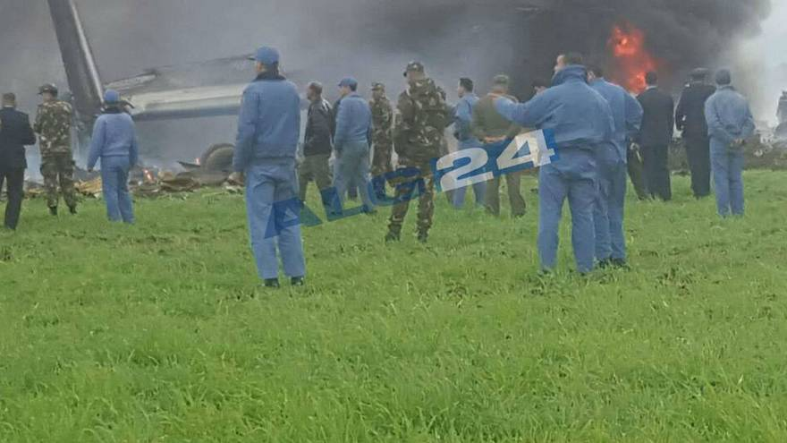 Hundreds dead after military plane crashes in Algeria
