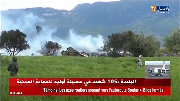 Авиакатастрофа в Алжире: число жертв растёт