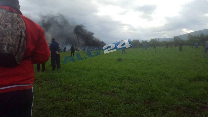 Flugzeugabsturz nahe Algier