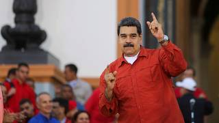 """""""Wie Ziegenpisse"""" - Maduro wettert gegen Trump"""