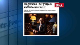 Svizzera: scomparso magnate tedesco Haub