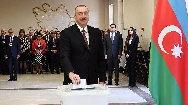 Алиев переизбран на новый срок