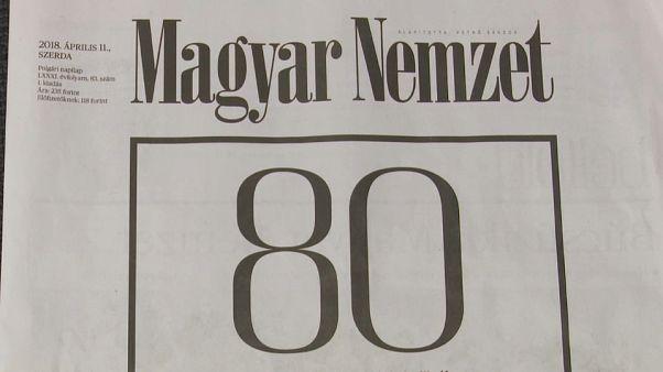 El histórico diario húngaro Magyar Nemzet dice adiós después de 80 años
