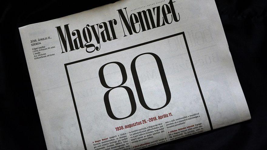 Magyar Nemzet's last edition