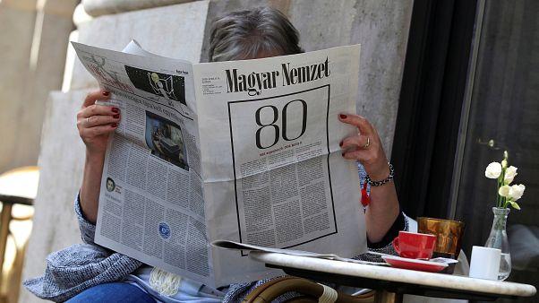"""Ungarn: Oppositionszeitung """"Magyar Nemzet"""" macht dicht"""
