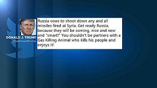 Donald Trump avertit la Russie qu'il va tirer des missiles sur la Syrie (tweet)