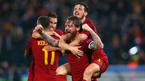 Fußball-Italien feiert den römischen Geniestreich