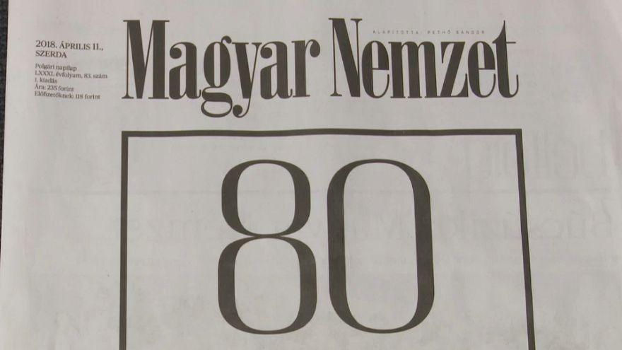 Macar basınında yaprak dökümü
