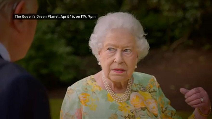 A királynő és Attenborough egy filmben