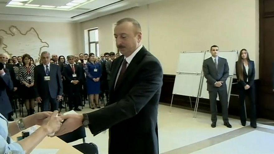 Azerbaijan alle urne per le elezioni presidenziali