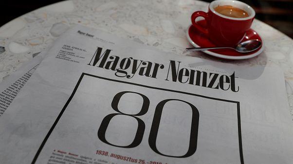 Hongrie : le principal quotidien d'opposition met la clef sous la porte