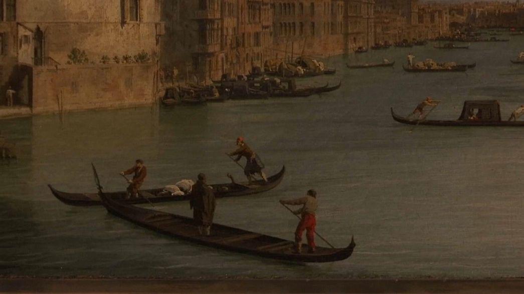 """Retrospetiva de """"Canaletto"""" no Museu de Roma"""