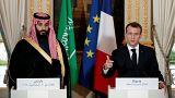 ماكرون يدافع عن ولي العهد السعودي ويطالب بمنحه الفرصة