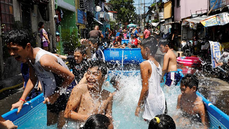Как Филиппины спасаются от жары