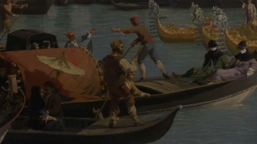 Ressam Canaletto 250. ölüm yıldönümünde Roma'da anılıyor