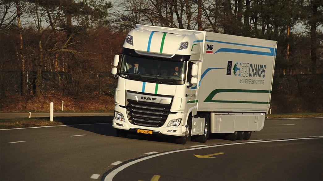 A Europa à procura dos gigantes híbridos da estrada