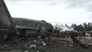 Plane crash in Argelia