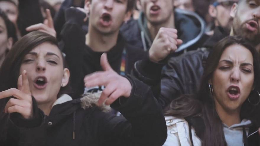 Spanish rappers 'defend freedom of expression' with new music video