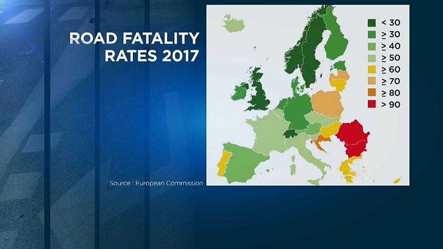 Menos mortes nas estradas da UE