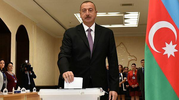 الهام علیاف برای سومین بار برنده انتخابات ریاست جمهوری آذربایجان شد