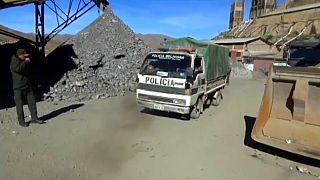 Al menos siete muertos y quince heridos en una mina de Huanuni