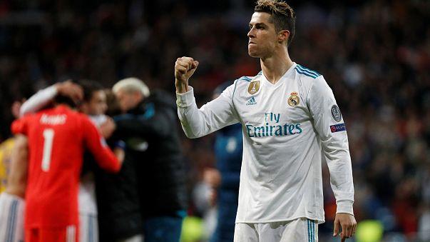 Real Madrid e Bayern de Munique estão nas meias-finais da Champions