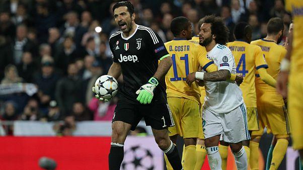 صعود رئال به نیمه نهایی لیگ قهرمانان اروپا در شب اخراج بوفون