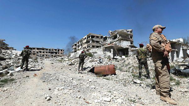 Doğu Guta'nın tamamı Suriye ordusunun kontrolünde