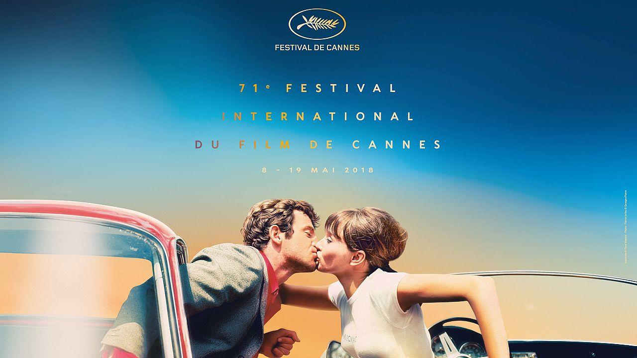 «Ο Τρελός Πιερό» του Γκοντάρ στην  επίσημη αφίσα του 71ου Φεστιβάλ Καννών