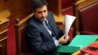 Ο αναπληρωτής υπουργός Οικονομικών Γιώργος Χουλιαράκης