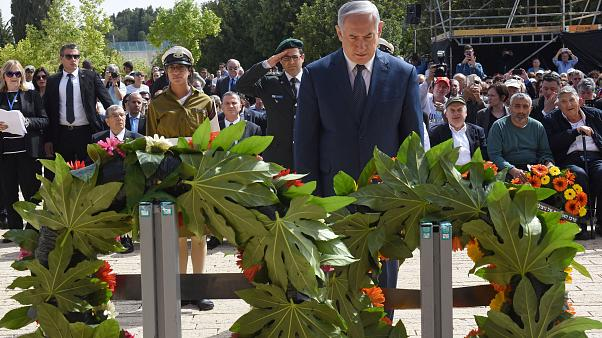 Netanjahu gedenkt der Opfer