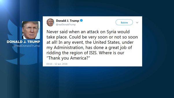 """Trump: """"El ataque en Siria podría ser muy pronto... o no"""""""
