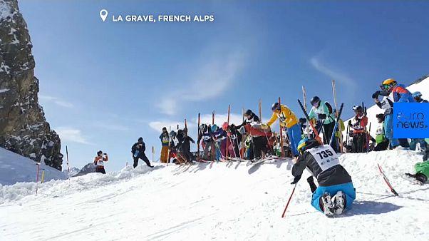 Соревнования для фрирайдеров - Le Derby de la Meije
