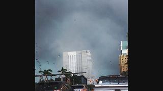 Торнадо в центре города