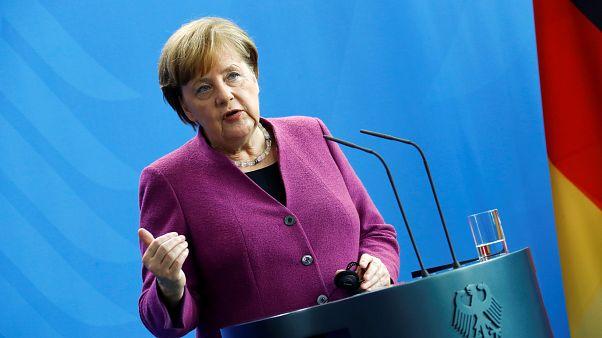 Merkel schließt deutsche Beteiligung an Militärschlag in Syrien aus
