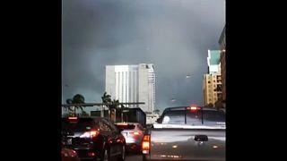 Tornádó söpört át Fort Lauderdale belvárosán