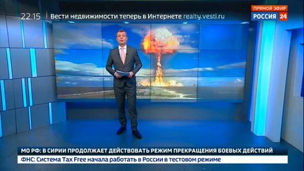 Rus devlet televizyonu 3. Dünya savaşında alınacak tedbirleri yayınladı