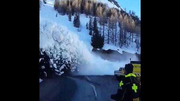 Au plus près de l'avalanche