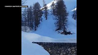 Emergency services taken by surprise by avalanche