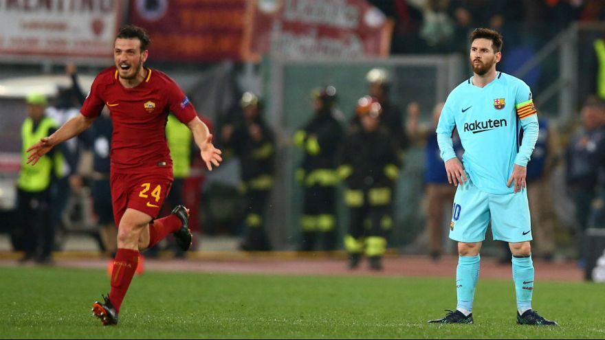 Italianos eliminaram o Barcelona , de Messi, numa reviravolta épica