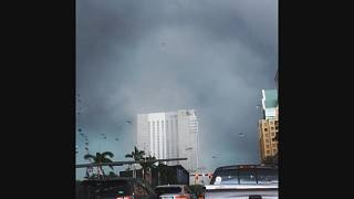 Dois tornados em Fort Lauderdale