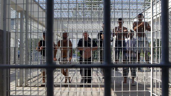 Häftlinge in Rumäniens Vaslui Gefängnis, 340 km von Bukarest entfernt.