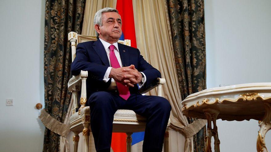 Armenian ex-President Serzh Sargsyan