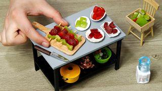 Miniature-sized dishes promote Turkish cuisine