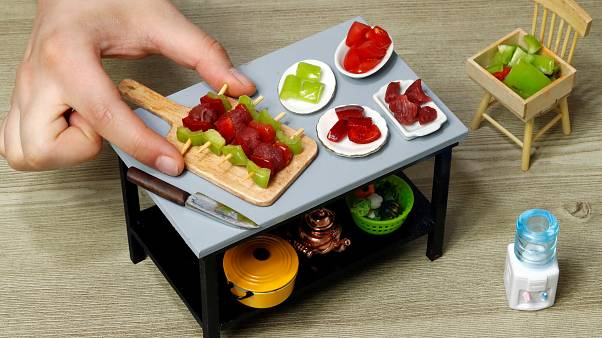Miniature-sized dishes promote Turkish cuisine